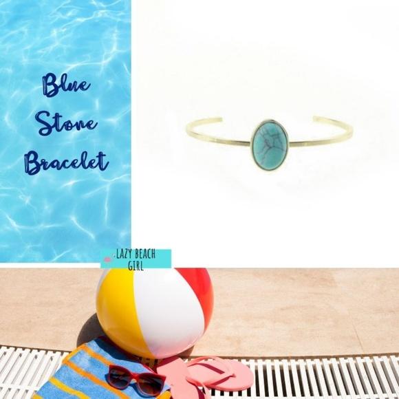 Jewelry - Trending Blue Oval Shape Bracelet